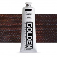 Golden : Heavy Body : Acrylic Paint : 150ml : Permanent Violet Dark
