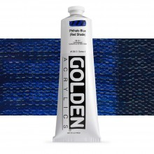 Golden : Heavy Body Acrylic Paint : 150ml : Phthalo Blue Red Shade