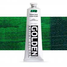 Golden : Heavy Body Acrylic Paint : 150ml : Phthalo Green Yellow Shade