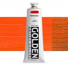 Golden : Heavy Body Acrylic Paint : 150ml : Pyrrole Orange