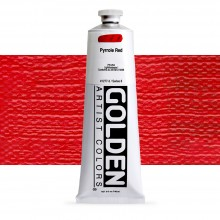 Golden : Heavy Body Acrylic Paint : 150ml : Pyrrole Red