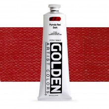 Golden : Heavy Body Acrylic Paint : 150ml : Pyrrole Red Dark