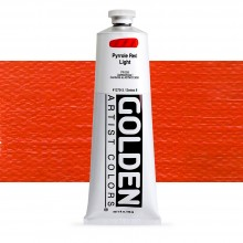 Golden : Heavy Body Acrylic Paint : 150ml : Pyrrole Red Light