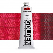 Golden : Heavy Body : Acrylic Paint : 150ml : Quinacridone Red