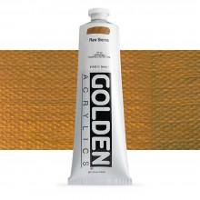 Golden : Heavy Body : Acrylic Paint : 150ml : Raw Sienna