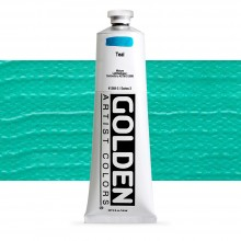 Golden : Heavy Body Acrylic Paint : 150ml : Teal