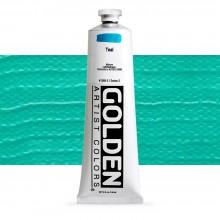 Golden : Heavy Body : Acrylic Paint : 150ml : Teal