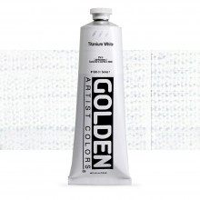 Golden : Heavy Body Acrylic Paint : 150ml : Titanium White
