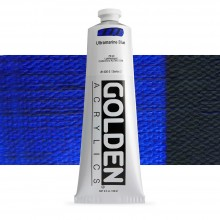Golden : Heavy Body : Acrylic Paint : 150ml : Ultramarine Blue