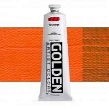Golden : Heavy Body : Acrylic Paint : 150ml : Vat Orange