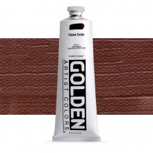 Golden : Heavy Body : Acrylic Paint : 150ml : Violet Oxide