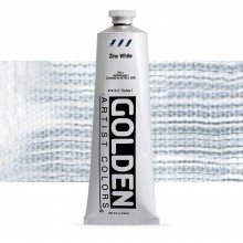 Golden : Heavy Body Acrylic Paint : 150ml : Zinc White