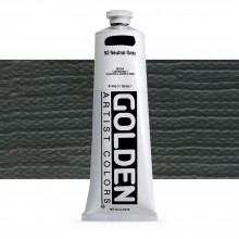 Golden : Heavy Body Acrylic Paint : 150ml : Neutral Grey No.2