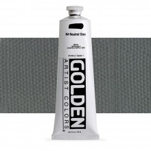 Golden : Heavy Body Acrylic Paint : 150ml : Neutral Grey No.4