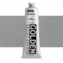 Golden : Heavy Body Acrylic Paint : 150ml : Neutral Grey No.6