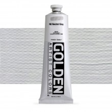 Golden : Heavy Body Acrylic Paint : 150ml : Neutral Grey No.8