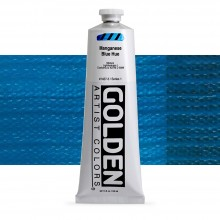 Golden : Heavy Body Acrylic Paint : 150ml : Manganese Blue Hue
