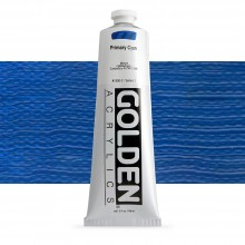 Golden : Heavy Body : Acrylic Paint : 150ml : Primary Cyan