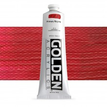 Golden : Heavy Body Acrylic Paint : 150ml : Primary Magenta