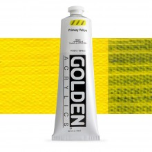 Golden : Heavy Body : Acrylic Paint : 150ml : Primary Yellow