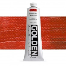 Golden : Heavy Body Acrylic Paint : 150ml : Cadmium Red Medium Hue