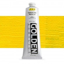 Golden : Heavy Body Acrylic Paint : 150ml : Cadmium Yellow Medium Hue