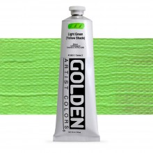 Golden : Heavy Body : Acrylic Paint : 150ml : Light Green Yellow Shade