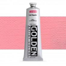 Golden : Heavy Body : Acrylic Paint : 150ml : Light Magenta