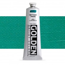 Golden : Heavy Body : Acrylic Paint : 150ml : Light Turquoise Phthalo