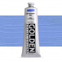 Golden : Heavy Body : Acrylic Paint : 150ml : Light Ultramarine Blue