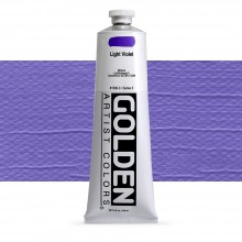 Golden : Heavy Body : Acrylic Paint : 150ml : Light Violet