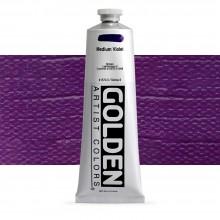 Golden : Heavy Body : Acrylic Paint : 150ml : Medium Violet