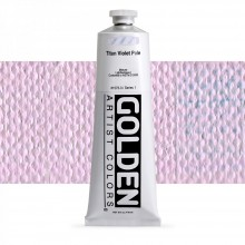 Golden : Heavy Body Acrylic Paint : 150ml : Titan Violet Pale  I