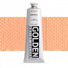Golden : Heavy Body Acrylic Paint : 150ml : Light Orange  IV