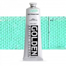 Golden : Heavy Body Acrylic Paint : 150ml : Light Phthalo Green  I