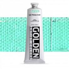 Golden : Heavy Body Acrylic Paint : 150ml : Light Phthalo Green I