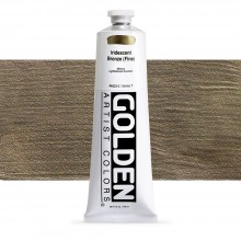 Golden : Heavy Body Acrylic Paint : 150ml : Bronze Fine Iridescent