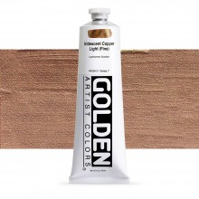 Golden : Heavy Body : Acrylic Paint : 150ml : Copper Light Fine Iridescent