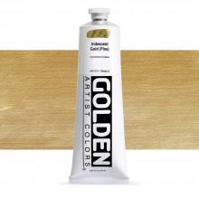 Golden : Heavy Body Acrylic Paint : 150ml : Gold Fine Iridescent