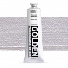 Golden : Heavy Body : Acrylic Paint : 150ml : Pearl Fine Iridescent