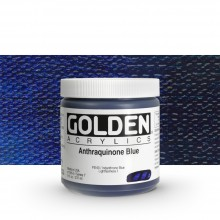 Golden : Heavy Body : Acrylic Paint : 236ml : Anthraquinone Blue