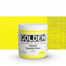 Golden : Heavy Body : Acrylic Paint : 236ml Bismuth Vanadate Yellow Ix New