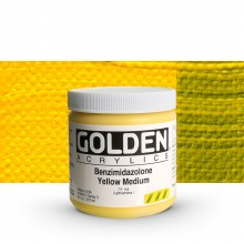 Golden : Heavy Body Acrylic Paint : 236ml : Benzimidazolone Yellow Medium III