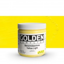 Golden : Heavy Body Acrylic Paint : 236ml : Benzimidazolone Yellow Light III