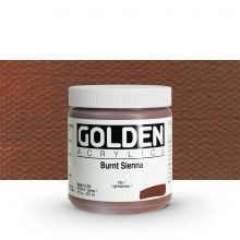 Golden : Heavy Body Acrylic Paint : 236ml : Burnt Sienna