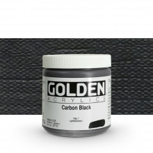 Golden : Heavy Body Acrylic Paint : 236ml : Carbon Black
