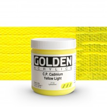 Golden : Heavy Body Acrylic Paint : 236ml : Pure Cadmium Yellow Light