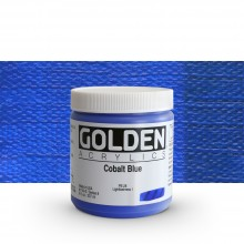 Golden : Heavy Body Acrylic Paint : 236ml : Cobalt Blue