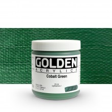 Golden : Heavy Body Acrylic Paint : 236ml : Cobalt Green