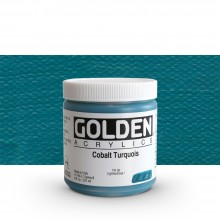 Golden : Heavy Body Acrylic Paint : 236ml : Cobalt Turquoise